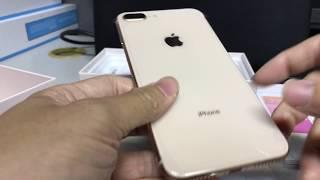 iPhone 8 Plus (Unlocked 256GB Gold) Unboxing