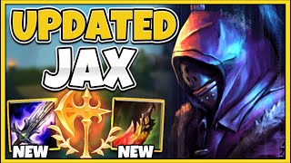*NEW* JAX IS TΗE ABSOLUTE MOST BROKEN TOP LANER (GOD-MODE 1V5 CARRY) - League of Legends