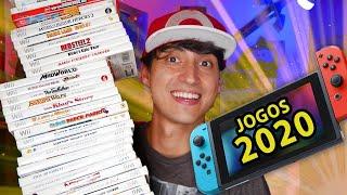 Os maiores destaques de Jogos para o Nintendo Switch em 2020