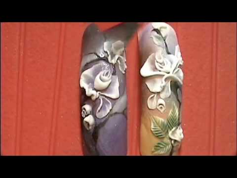 Наращивание и дизайн ногтей. Курс Акриловая лепка