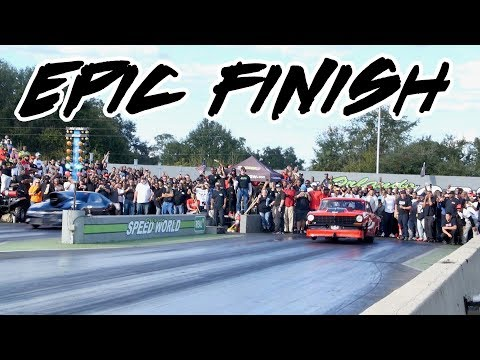 ALCATRAZ CAMARO VS STREET OUTLAWS BODDIE GRUDGE RACE AT NO GUTS NO GLORY! THE ENDING WAS SUPER CLOSE