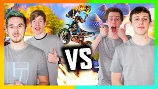 DanTDM + Syndicate v Calfreezy & W2S - Trials Fusion 2 v 2 | Legends of Gaming