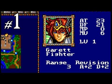 Warsong Walkthrough (Genesis) - Retro Gaming SEGA - Part 1 + Secrets