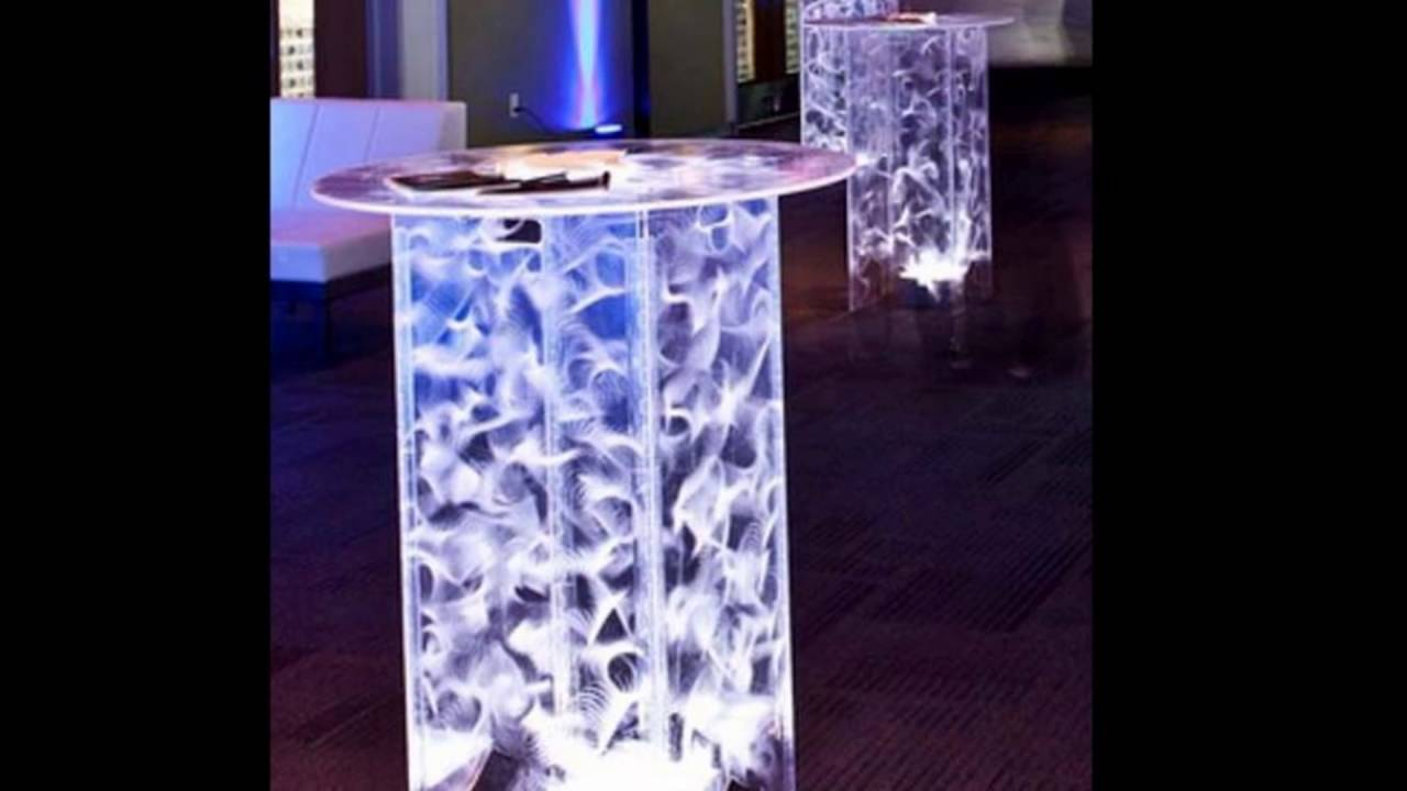 Merveilleux Acrylic Cocktail Tables