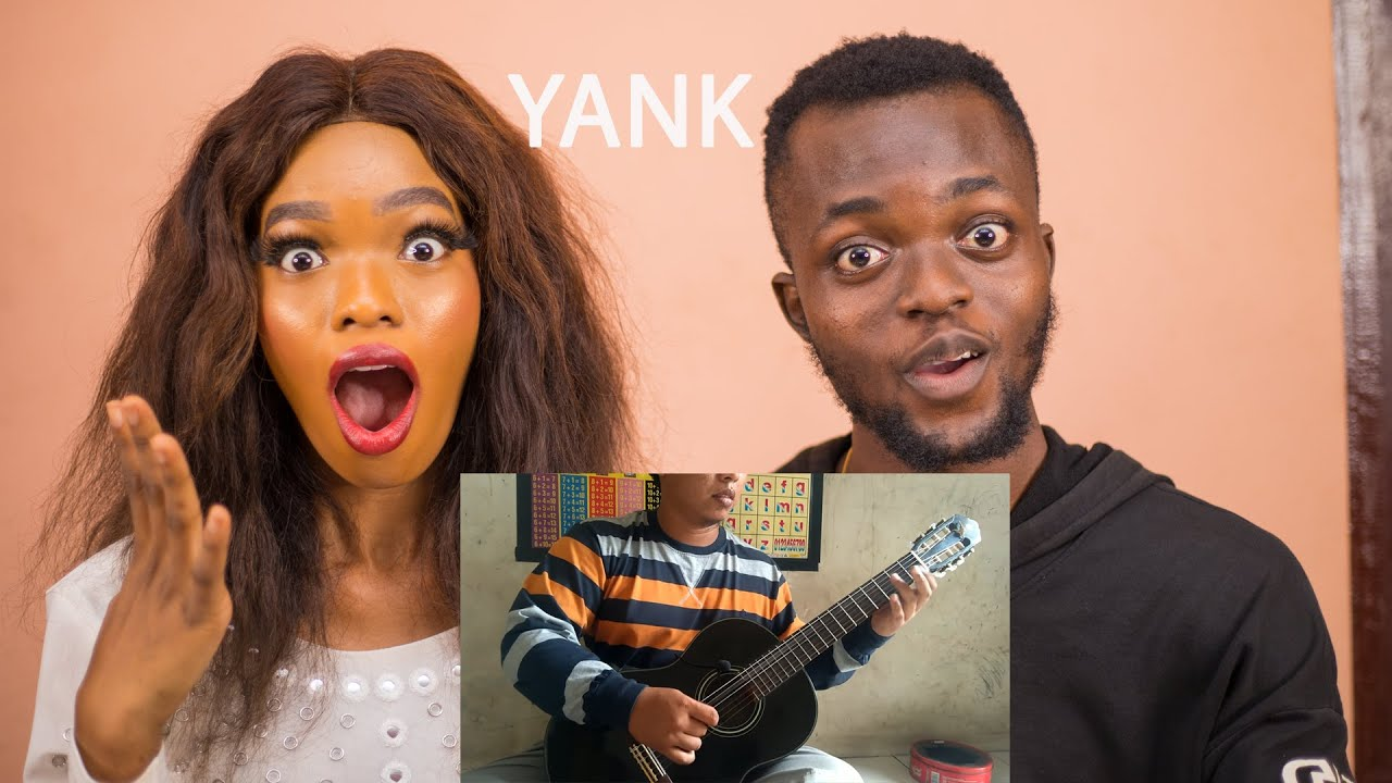 OUR FIRST TIME REACTING To ALIP BA TA - wali - yank (fingerstyle cover)