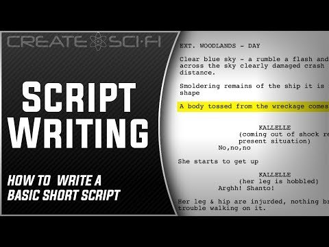 The Script, A No Frills DIY Script Writing Approach: Step 1 How To Make A Sci-Fi Short Film