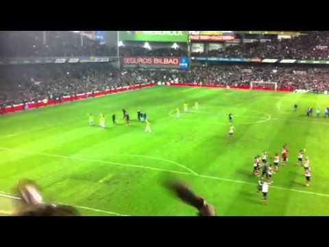 Athletic Mirandés celebracion