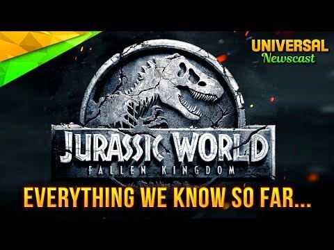 JURASSIC WORLD 2 NEWS UNVEILED - Universal Studios News 07/10/2017