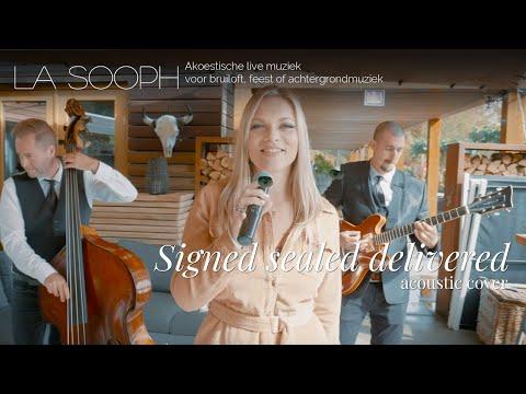 Akoestische band La Sooph. Zoek je muziek voor feest, live muziek huwelijk of achtergrondmuziek?