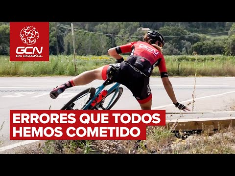 Errores que hasta el ciclista más experimentado ha cometido
