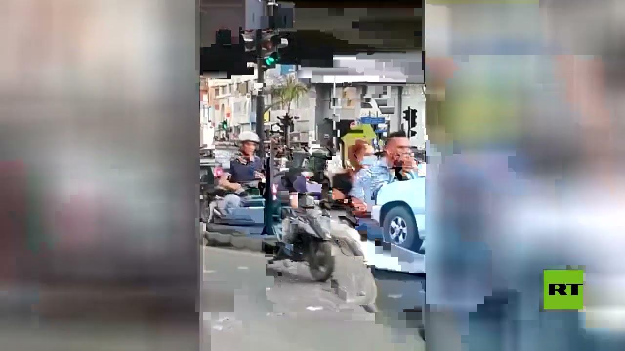 لبنان.. إقفال تام وقطع طرقات تزامنا مع الإضراب وسط دعوات إلى تشكيل الحكومة  - 15:56-2021 / 6 / 17