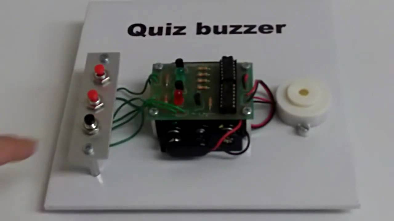 hight resolution of demo quiz buzzer www kitronik co uk