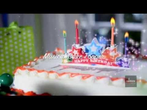 Musical Cake Topper