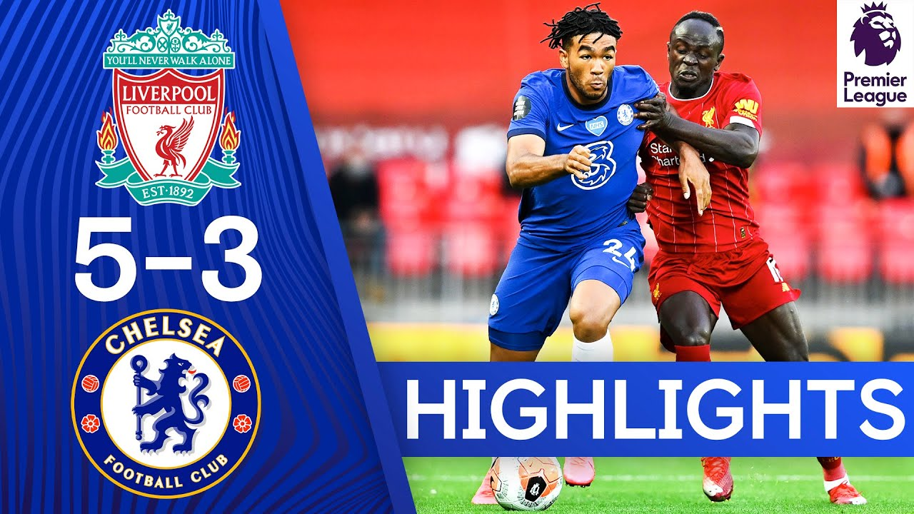 Liverpool 5-3 Chelsea | Premier League Highlights