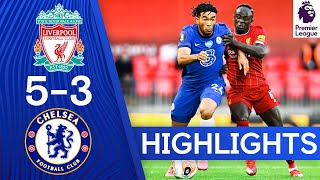 Liverpool 5 3 Chelsea | Premier League Highlights