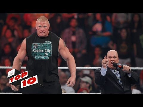 Top 10 Raw moments: WWE Top 10, August 3, 2015