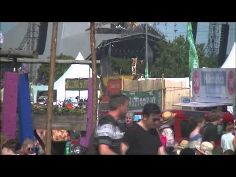Sights and Sounds of Glastonbury 2013
