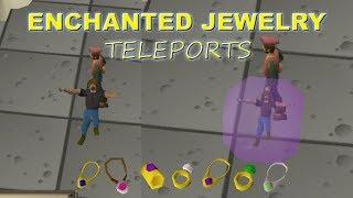 Osrs   Enchanted Jewelry Teleports Explained!