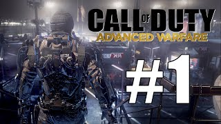 Call of Duty: Advanced Warfare Playthrough Part 1 - LET THE WAR BEGIN!