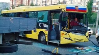 Bus Crashes, Tram Crashes, Trolleybus Crashes compilation 2016 Part 3