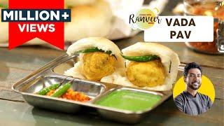 Vada Pav | मुंबई वड़ा पाव | घर पे आसानी से बनाएँ चौपाटी स्टाइल ।Mumbai Style Vada Pav | Chef Ranveer