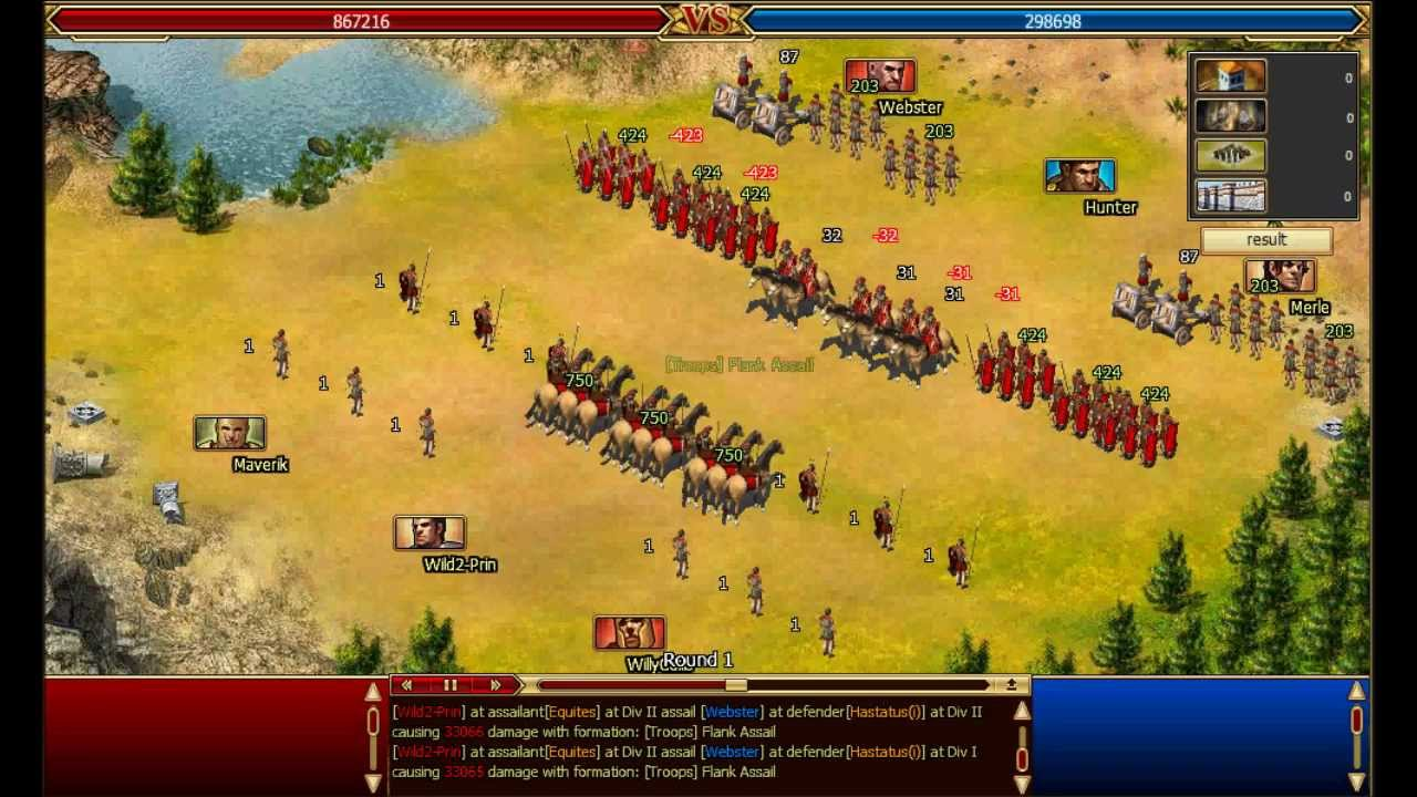 Caesary Call Of Roma Low Loss Maruading A Level 6 Wild With