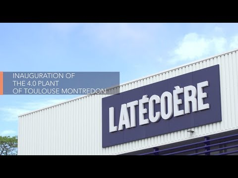 Inauguration of the 4.0 plant of Toulouse-Montredon - Latécoère