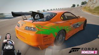 1500 чертей под капотом Супры  - Forza Horizon 2