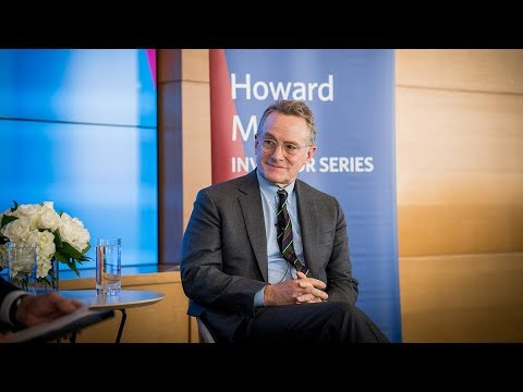 Marks Investor Series featuring Howard Marks, W'67, Co-Chairman, Oaktree Capital
