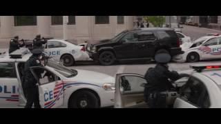 Captain America Winter Soldier Police Attack Scene Fight