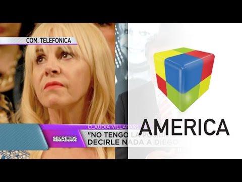 Claudia Villafañe: Cuando todo termine, van a saber quién dijo la verdad y quién no
