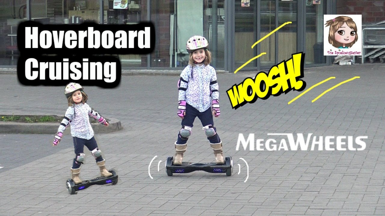 megawheels hoverboard mama vs hannah wer kann es. Black Bedroom Furniture Sets. Home Design Ideas