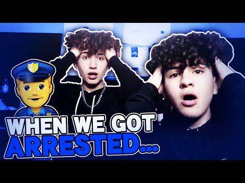 We Got Arrested *STORYTIME* | Marc Gomez , Mathew Valenzuela