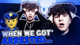 We Got Arrested *STORYTIME* | Marc Gomez , Mathew Valenzuela