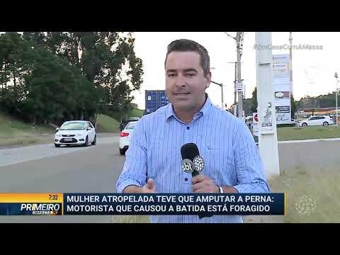 Mulher Atropelada Teve Que Amputar Perna - Primeiro Impacto PR (01/04/2020)