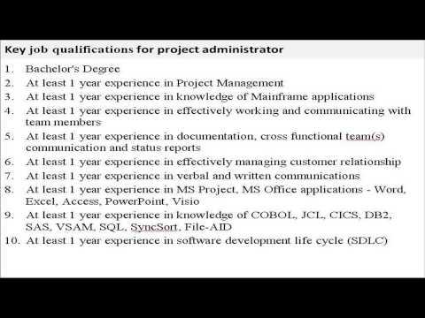 project-administrator-job-description