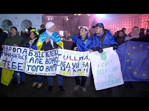 No let up in pro-EU protests in Ukraine as fresh demonstrations erupt in Kiev