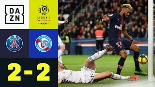 Choupo-Moting mit dem Fail des Jahres: PSG - Strasbourg 2:2 | Highlights | Ligue 1 | DAZN