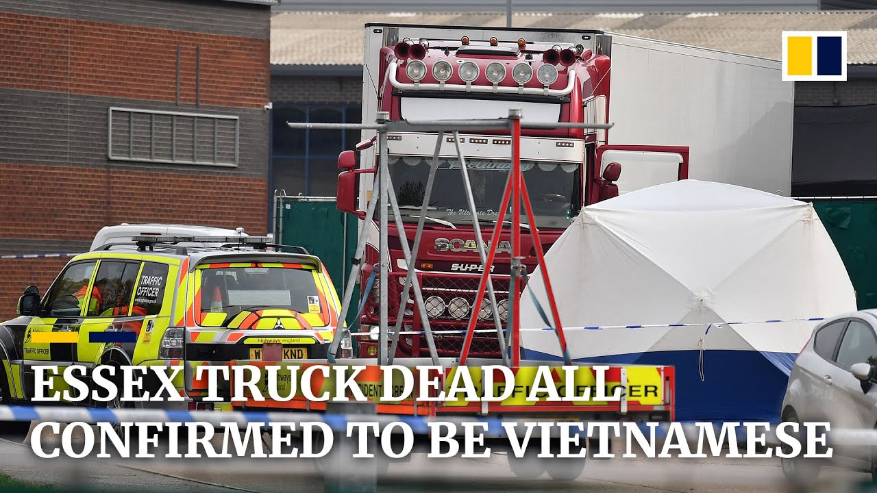 Essex truck victims were all Vietnamese nationals, officials confirm
