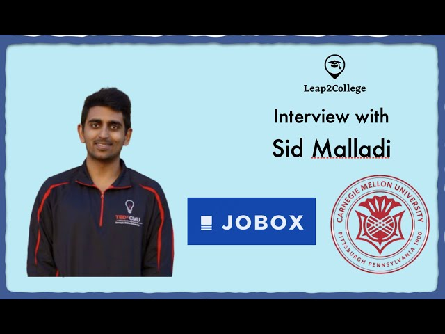 Interview With Sid Malladi