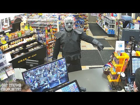 The Night King Gets Caught Shoplifting Game Of Thrones
