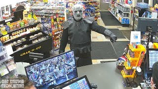 The Night King Gets Caught Shoplifting (Game Of Thrones)