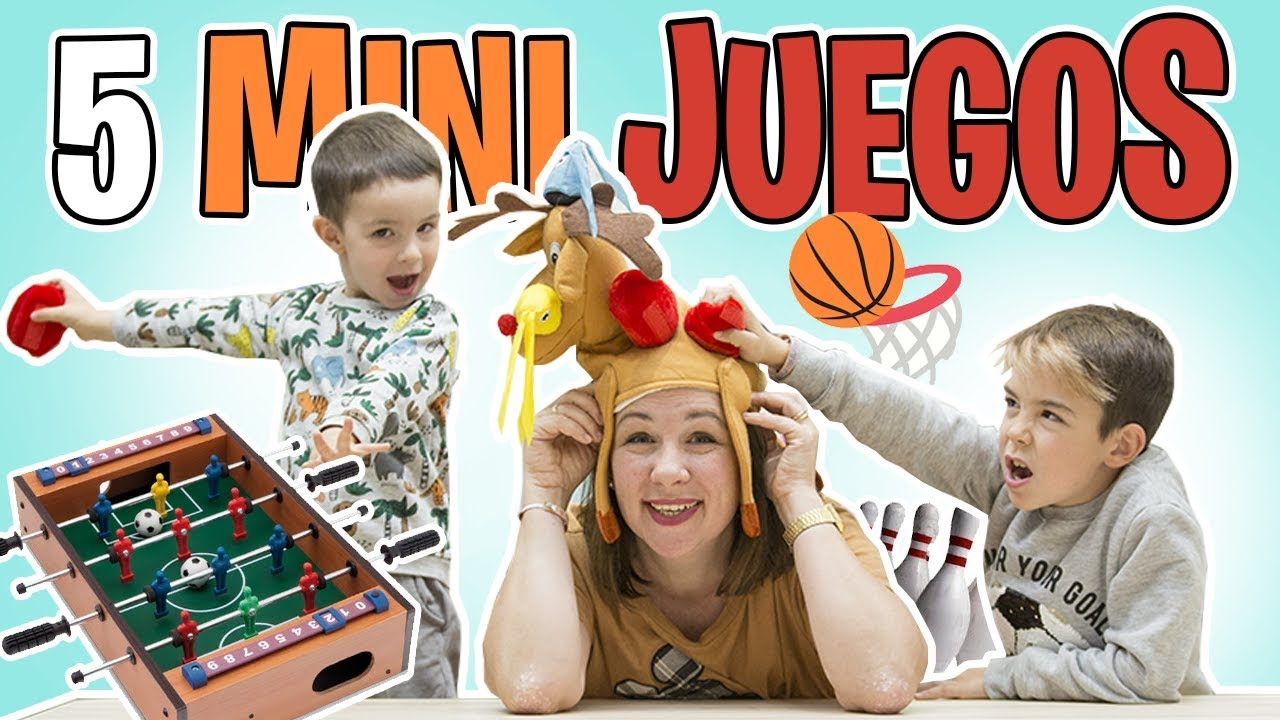 5 Mini Juegos De Mesa Para Ninos Muy Divertidos Familukis