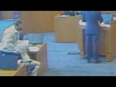 Dramatic video of courtroom shooting released nearly 4 years later