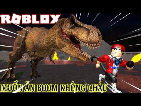 ROBLOX | Đi Săn Và Sống Sót Ngoạn Mục Khi Bị Khủng Long Dí | Dinosaur Hunter | Vamy Trần