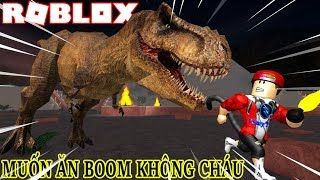 ROBLOX | Hunting And Survived Spectacularly When Dino Sticks | Dinosaur Hunter | Vamy Tran