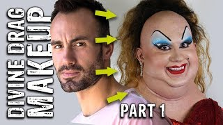 Divine Drag Prosthetic Transformation video 1