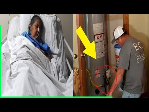 Mom Sick For 11 Years Until Repairmen Find Something Very Wrong In Her Furnace..