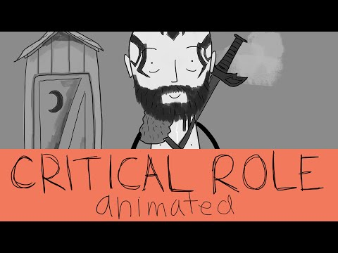 Critical Role Animated - Grog's Outhouse Conversation