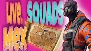 Fortnite Live Treasure Hunt Squads (USE CODE: mexicandom)